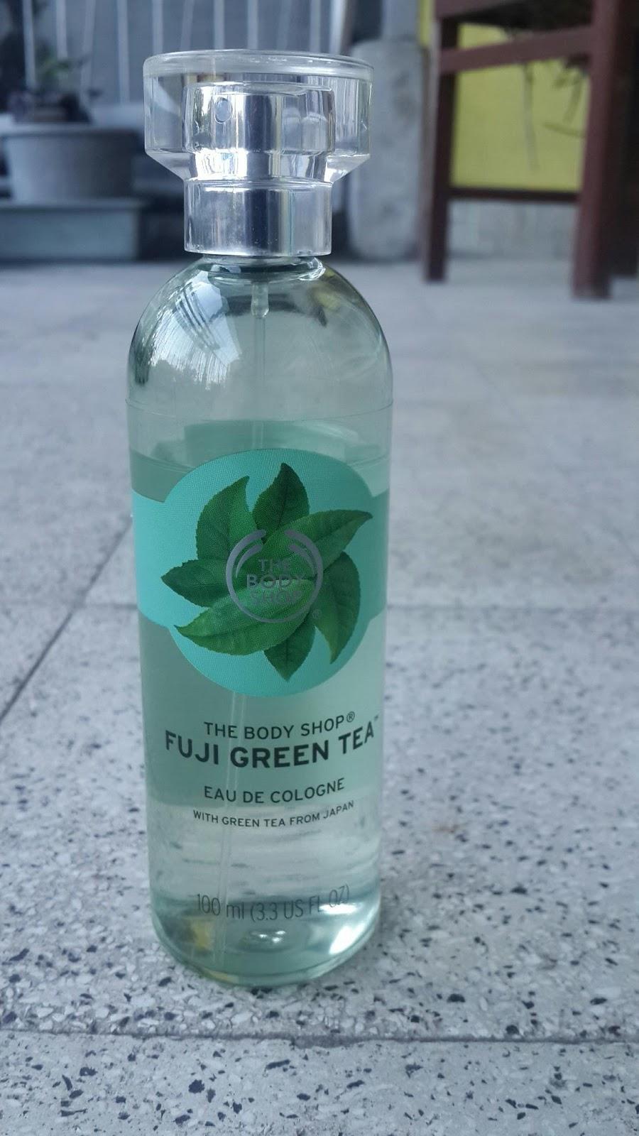 body shop fuji green tea cologne review