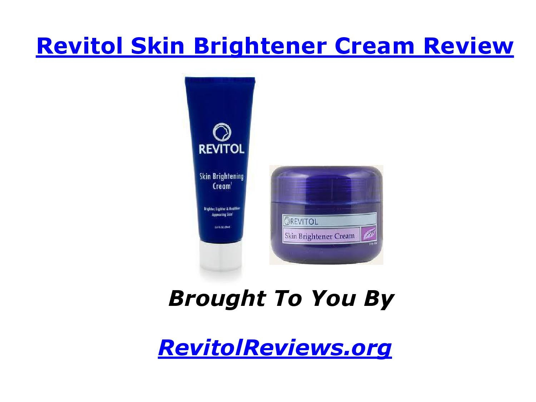 revitol skin brightener cream review