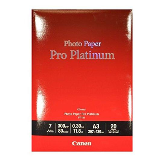 canon pro platinum paper review