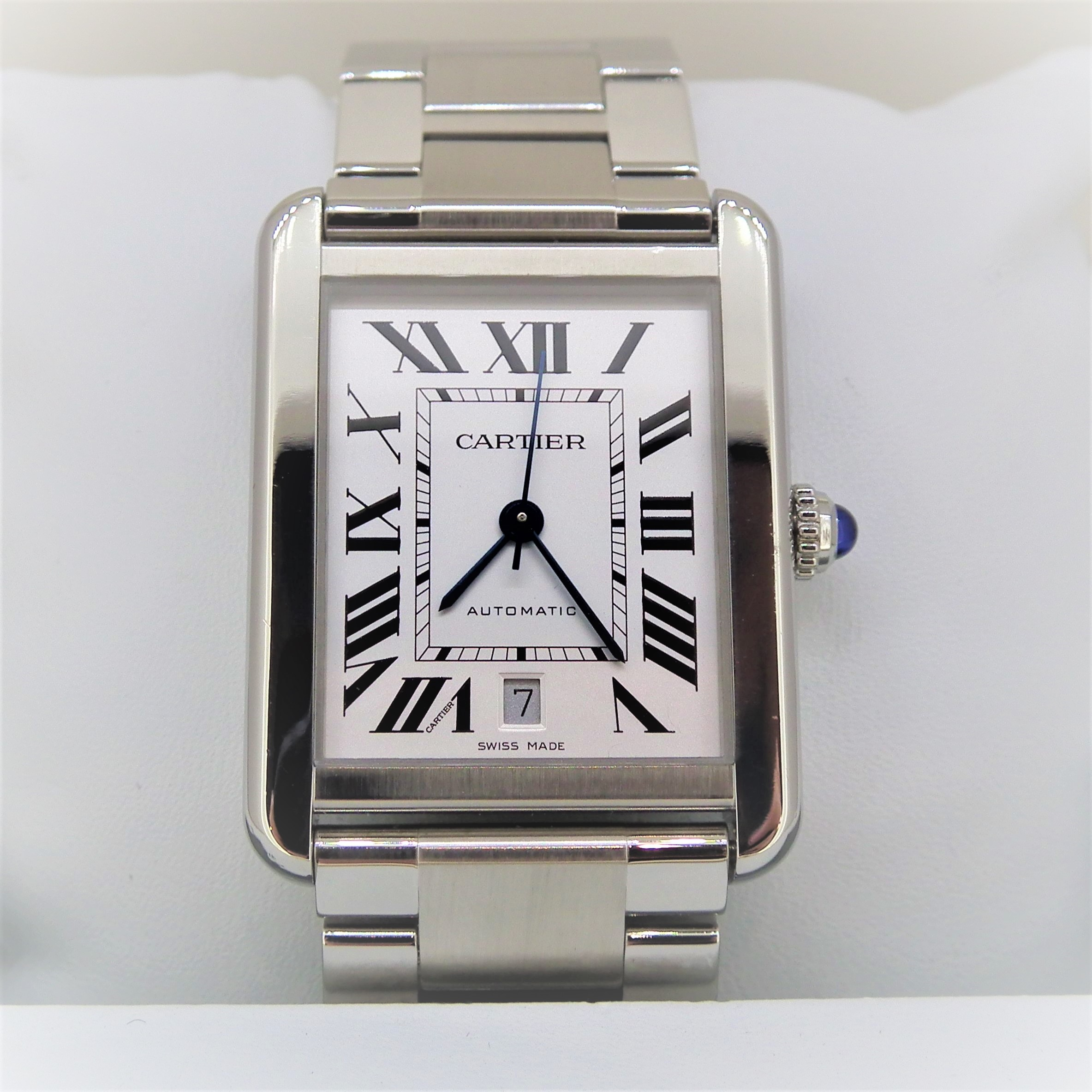 cartier tank solo xl automatic review