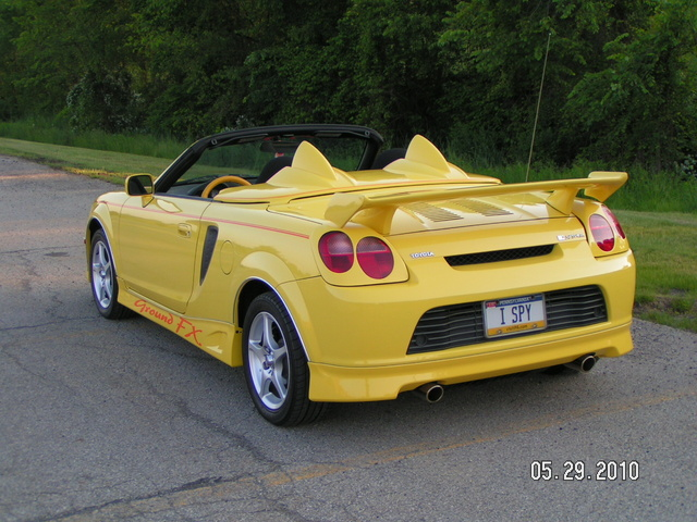 2001 toyota mr2 spyder review