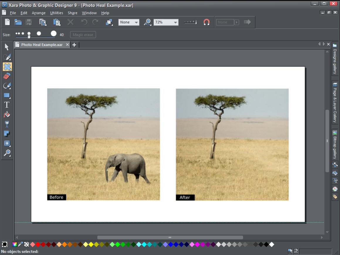 xara photo & graphic designer review