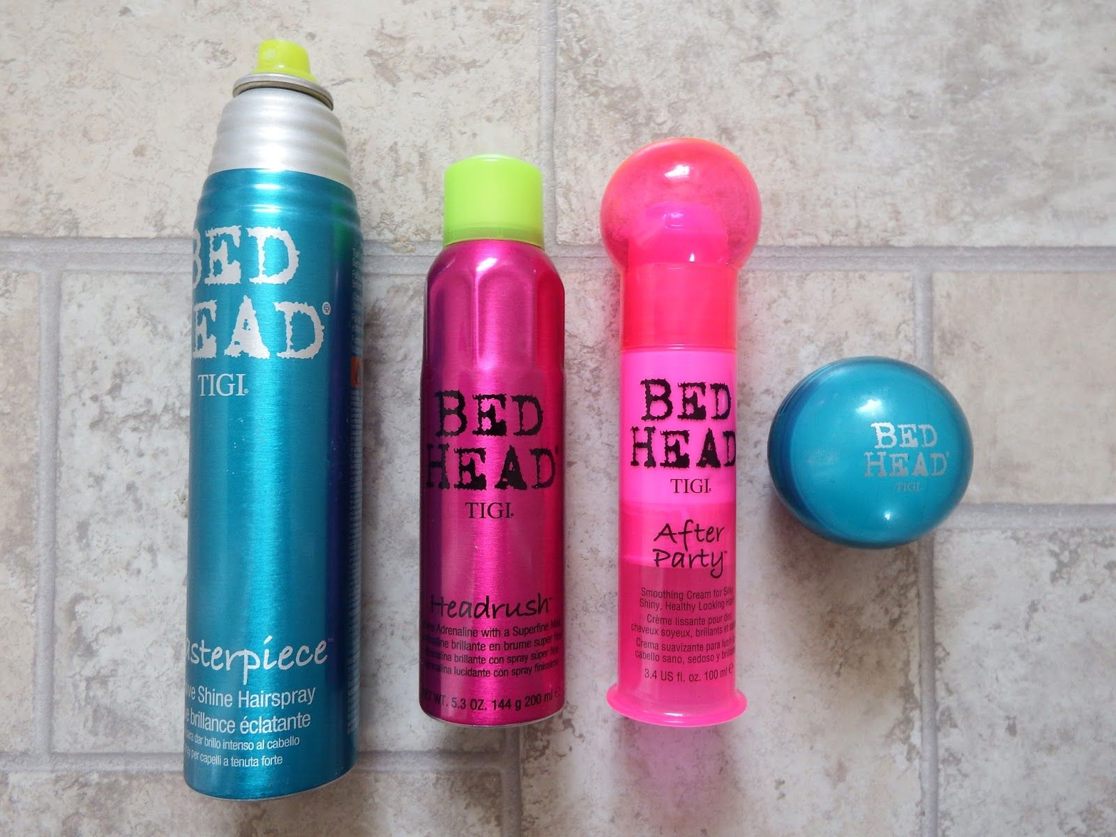 bed head tigi after party review