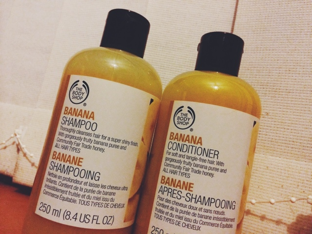 body shop banana conditioner review