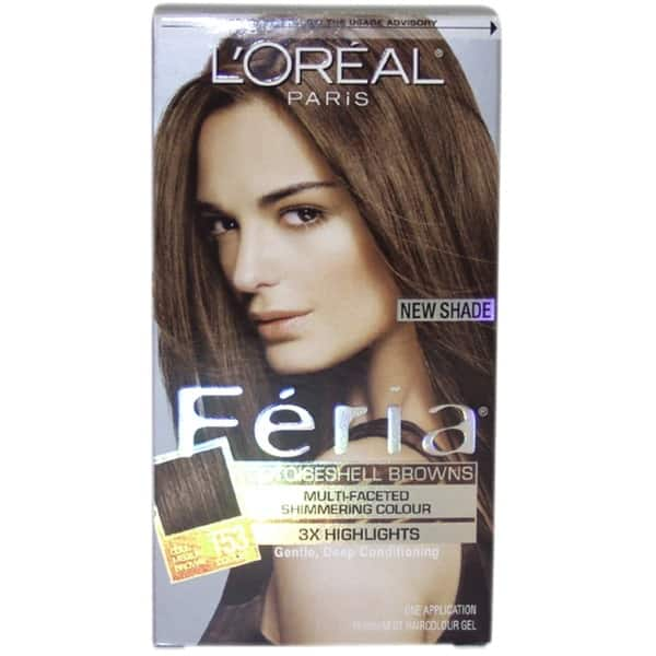 medium chestnut brown loreal reviews