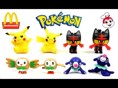 fast food toy reviews pokemon