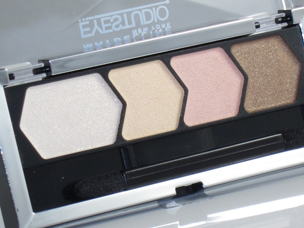 maybelline eye studio eyeshadow quad review