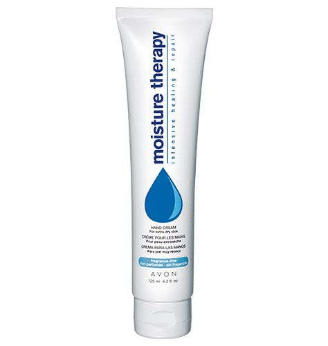 avon moisture therapy hand cream review