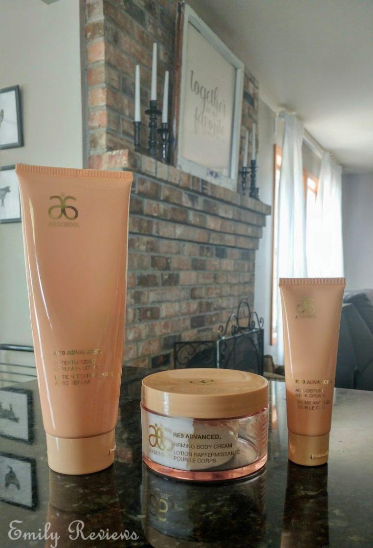 arbonne skin care re9 reviews