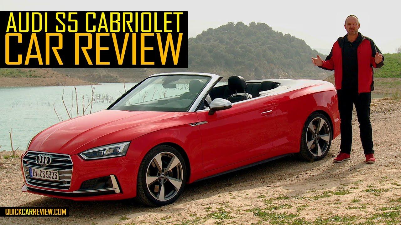 audi s5 cabriolet review 2017