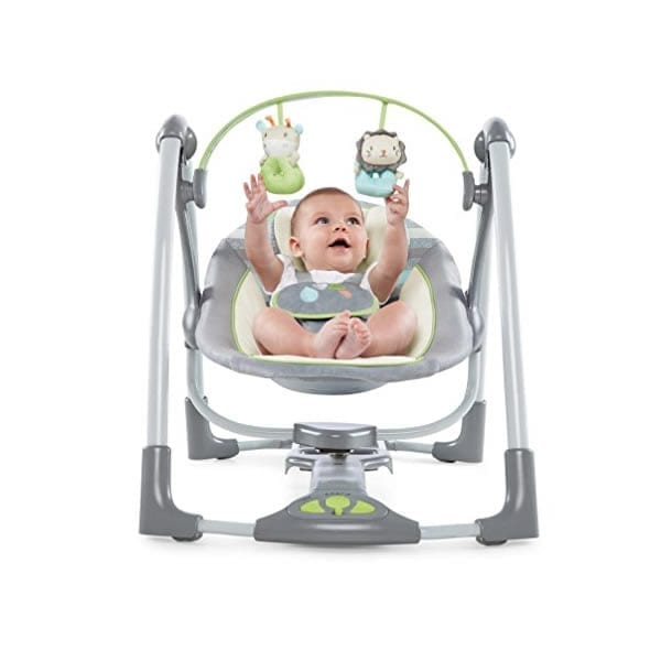 ingenuity orson 2 in 1 full size swing review