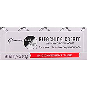black and white bleaching cream reviews