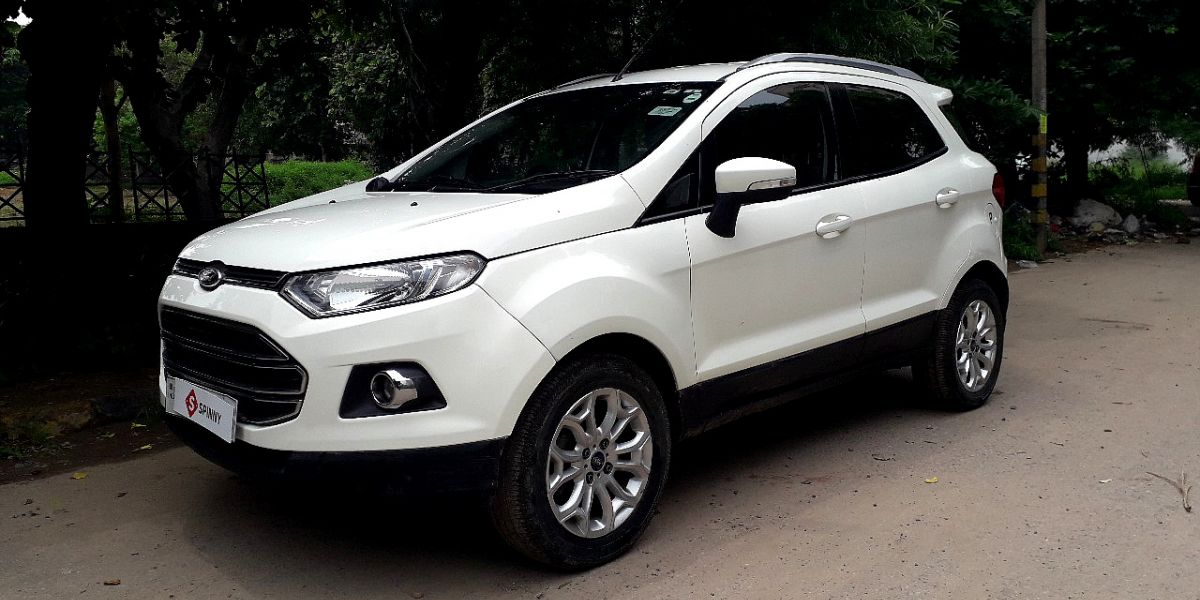 ford ecosport trend petrol review