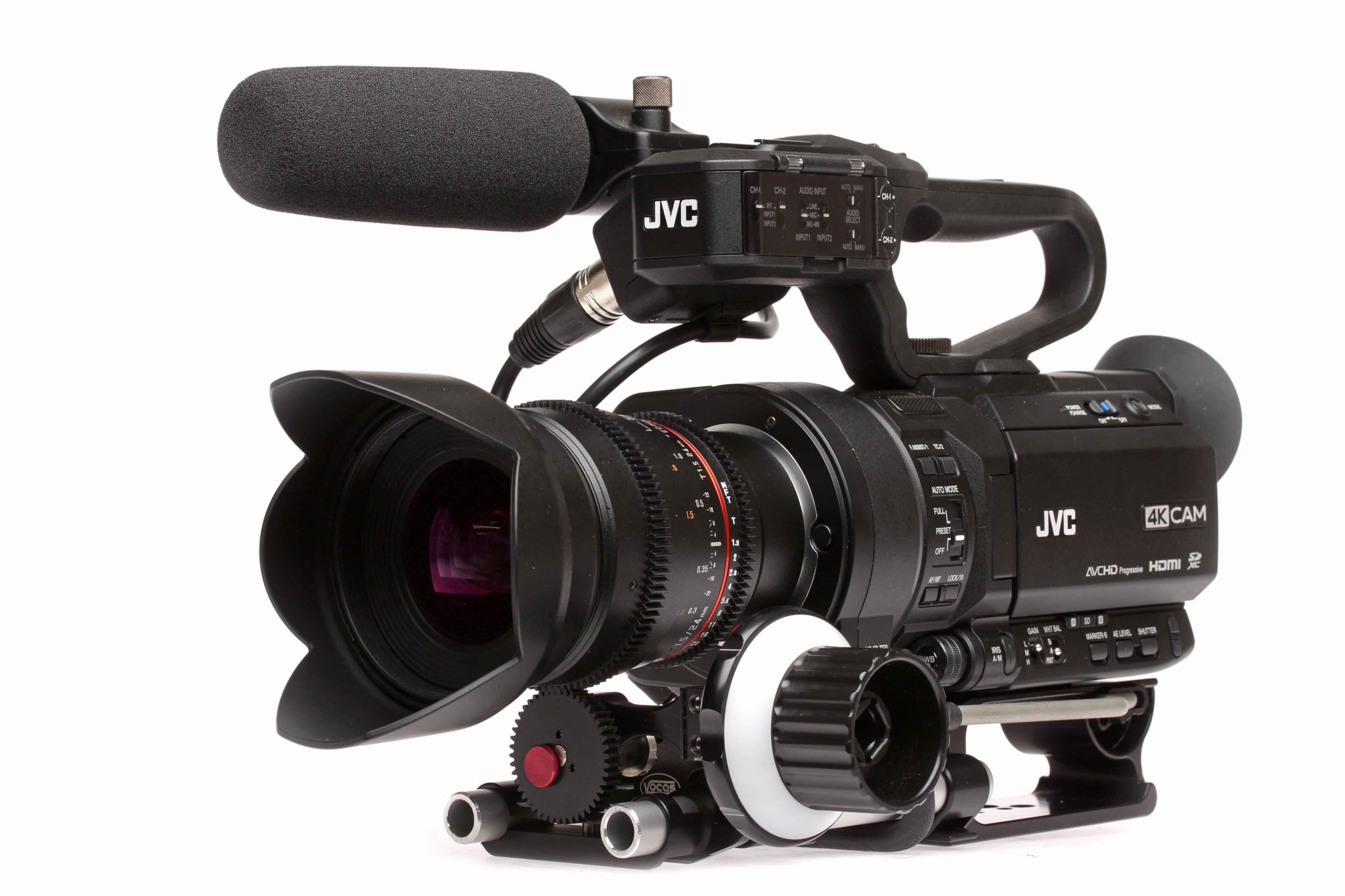 jvc gy hm170 4kcam review