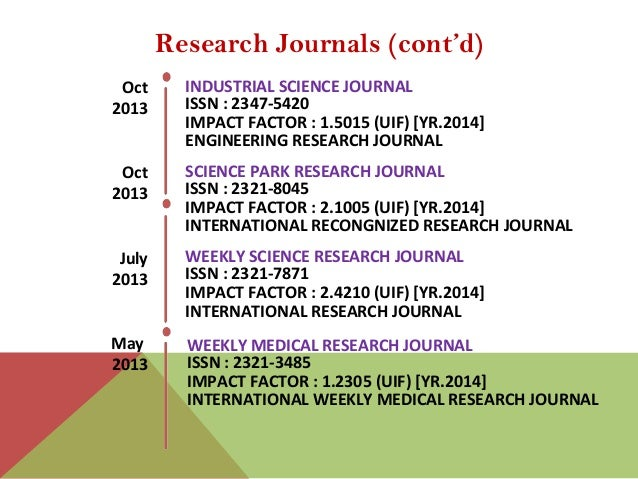 physical review d impact factor 2015
