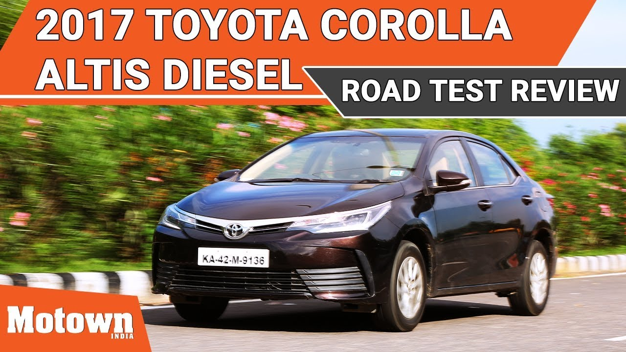 toyota corolla altis india review