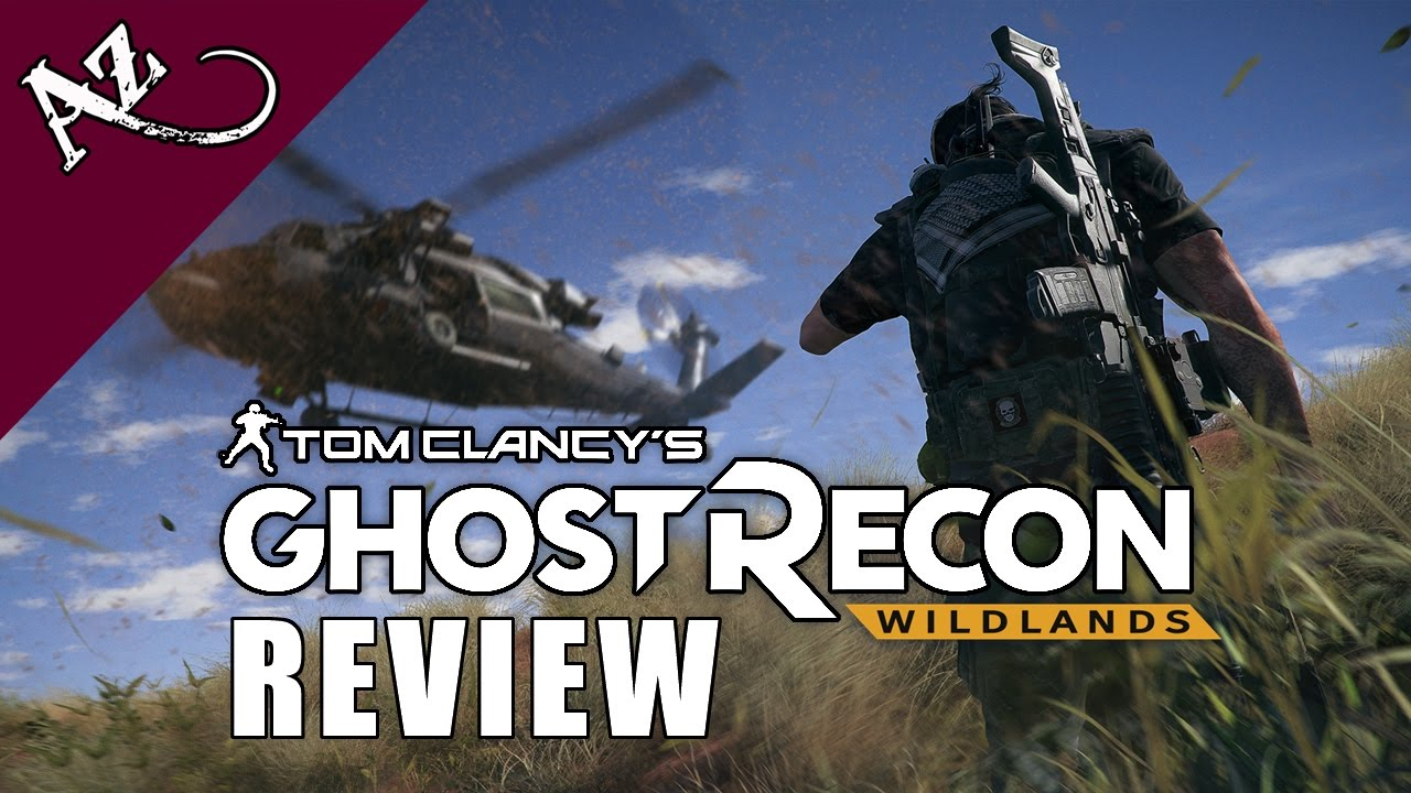 ghost recon wildlands review video