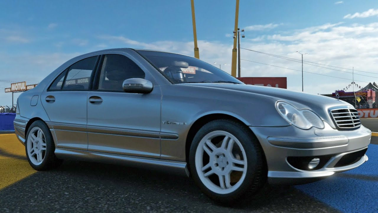mercedes benz c32 amg review