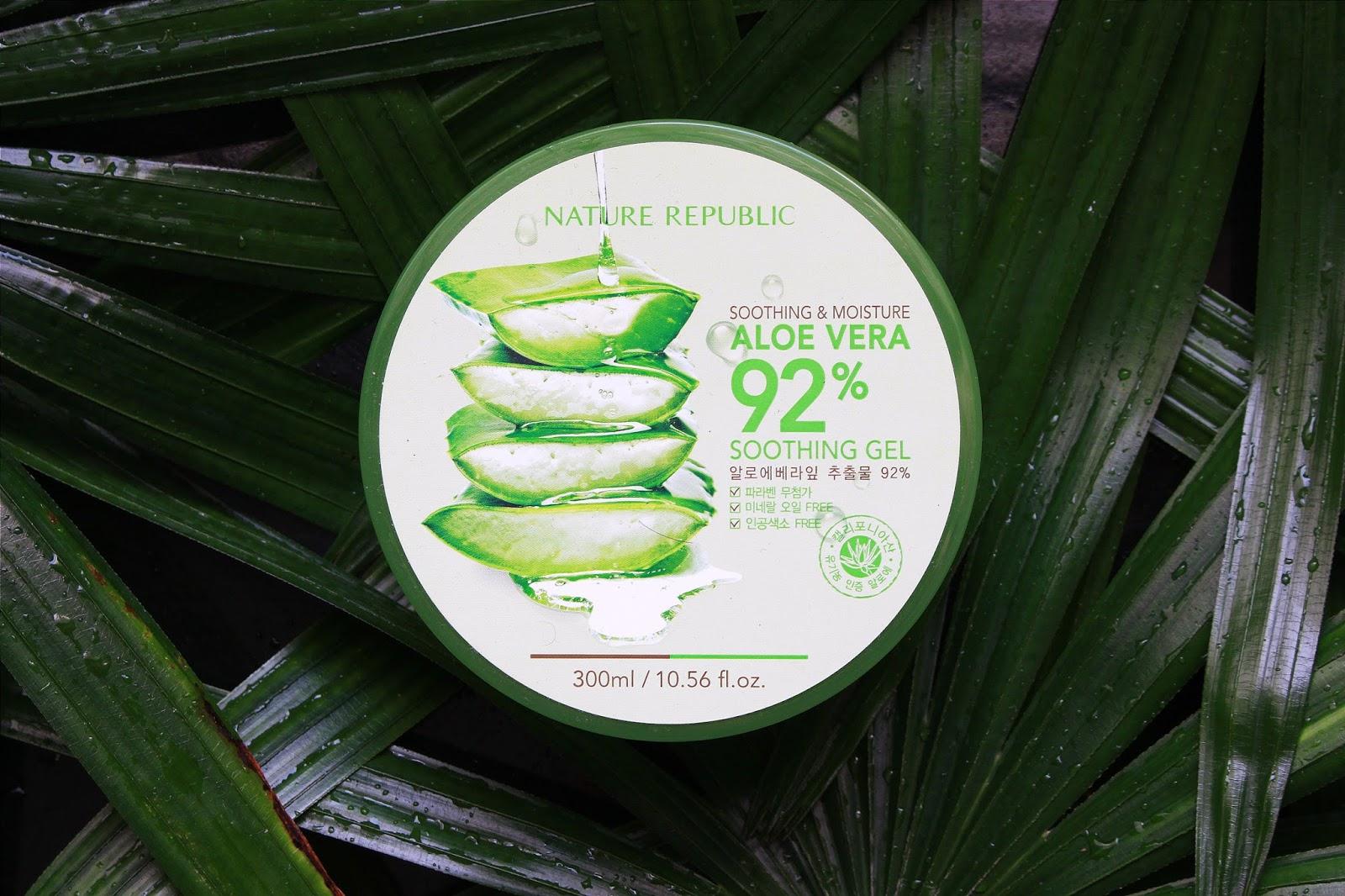 aloe vera soothing gel review