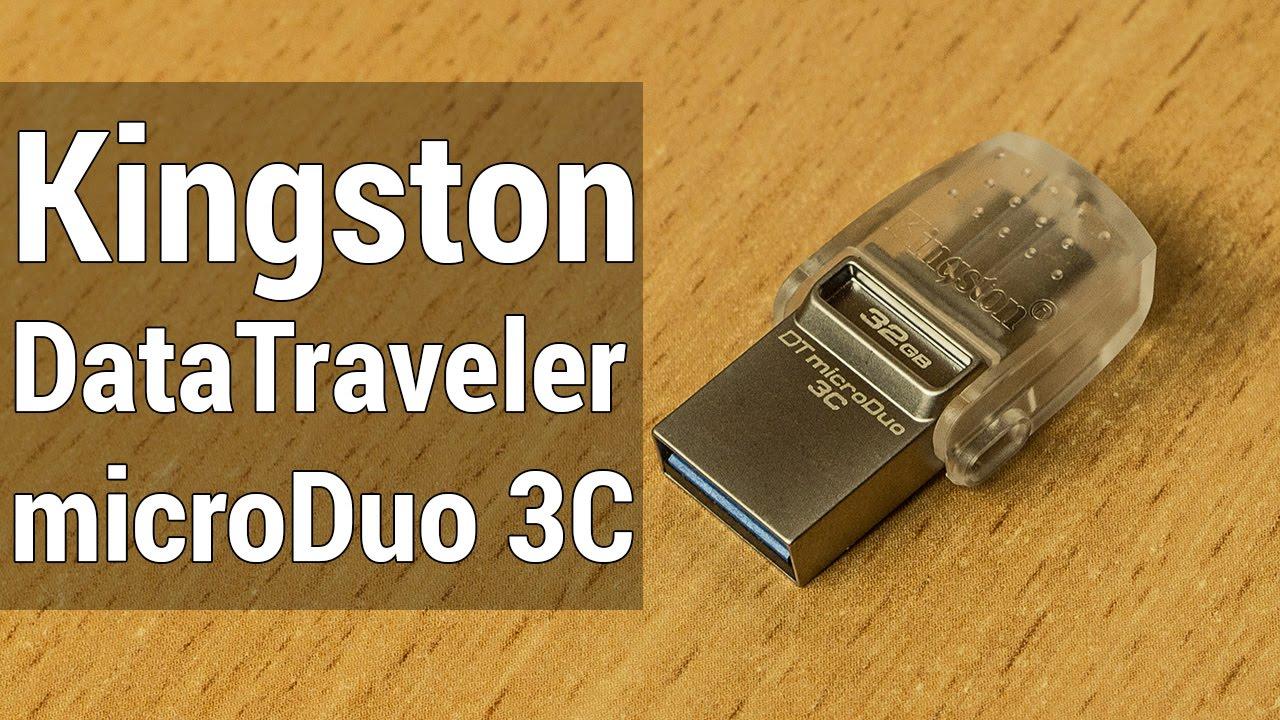 kingston datatraveler microduo 3c review