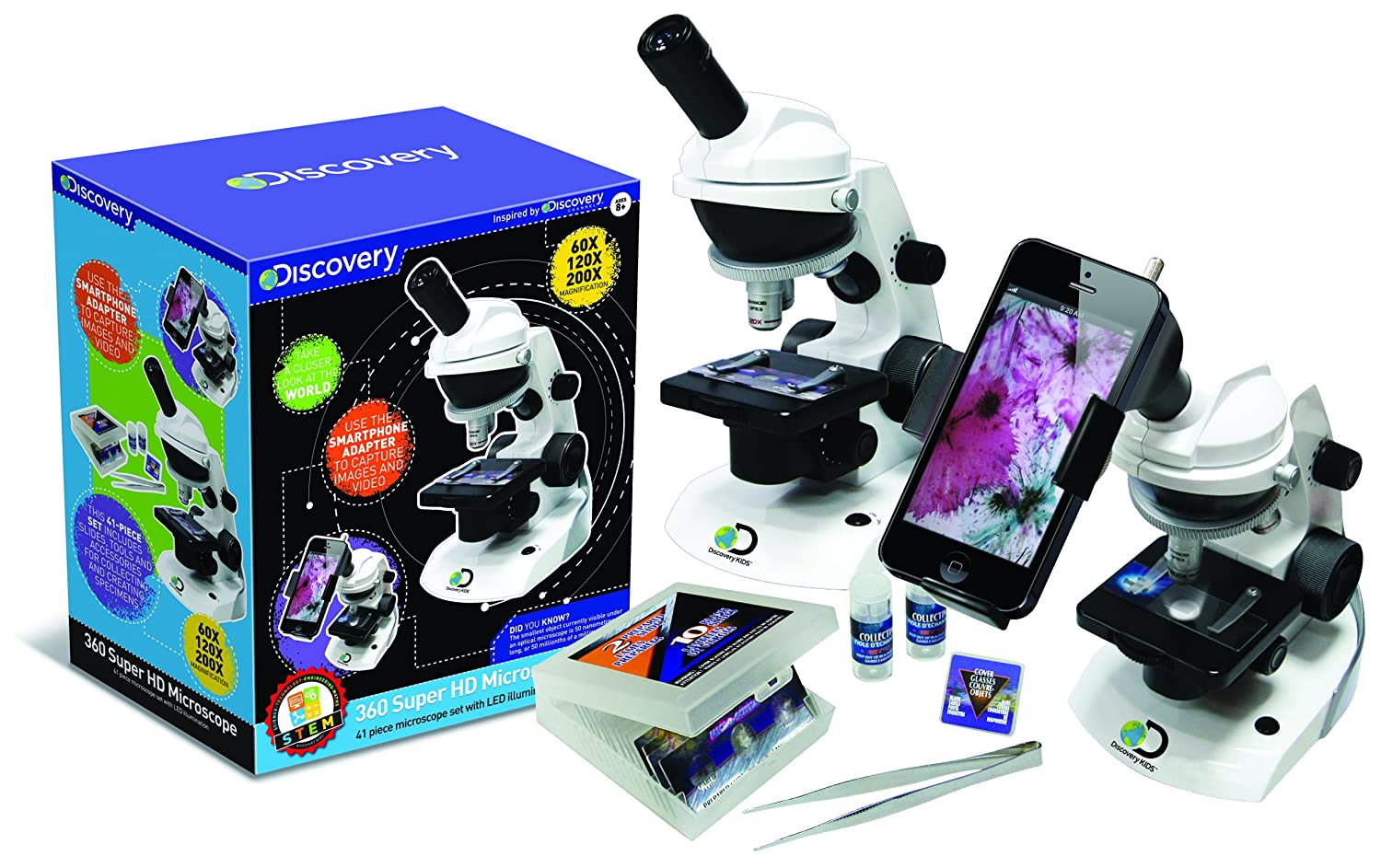 discovery channel smartphone microscope review
