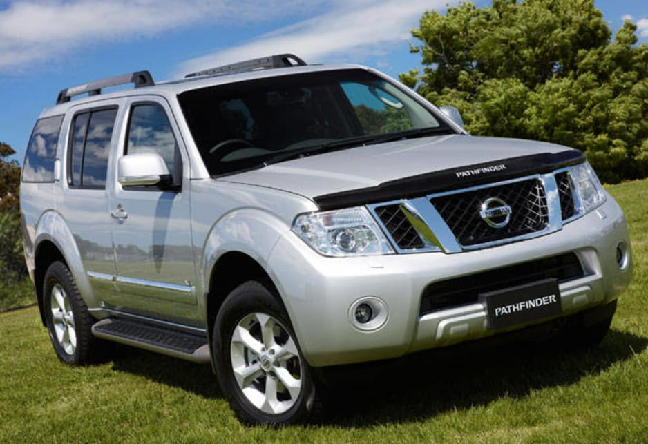 nissan pathfinder ti 550 review