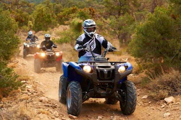 2014 yamaha grizzly 700 review