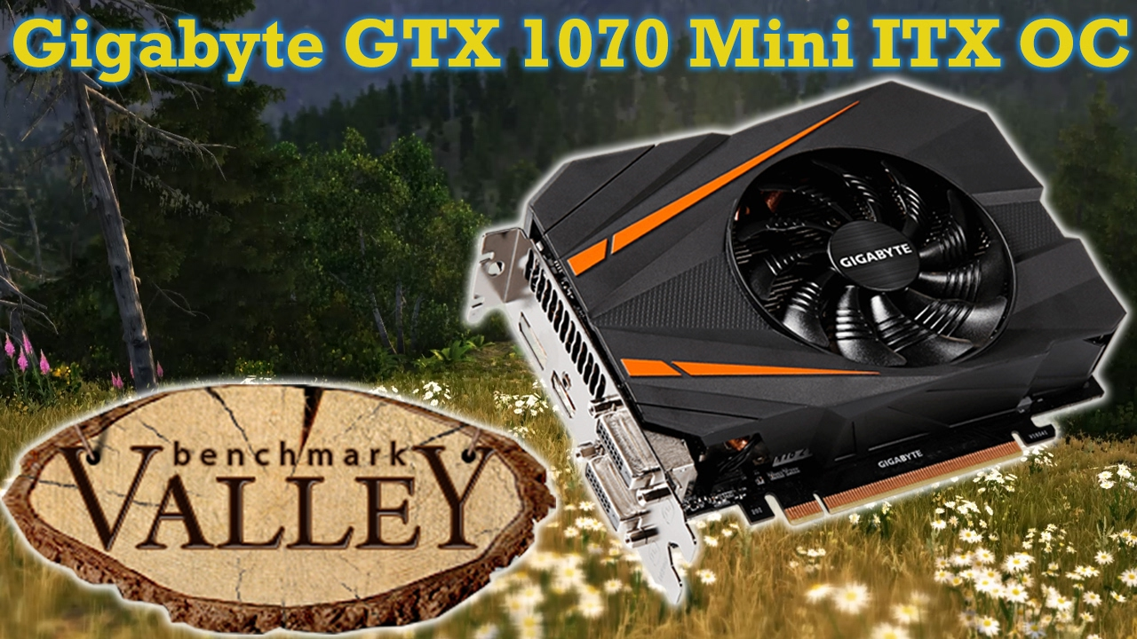 gigabyte geforce gtx 1070 mini itx oc 8gb review