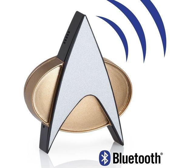 star trek tng bluetooth combadge review
