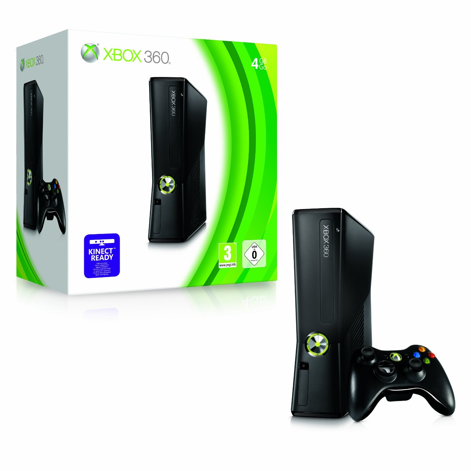 xbox 360 reviews 4gb vs 250gb