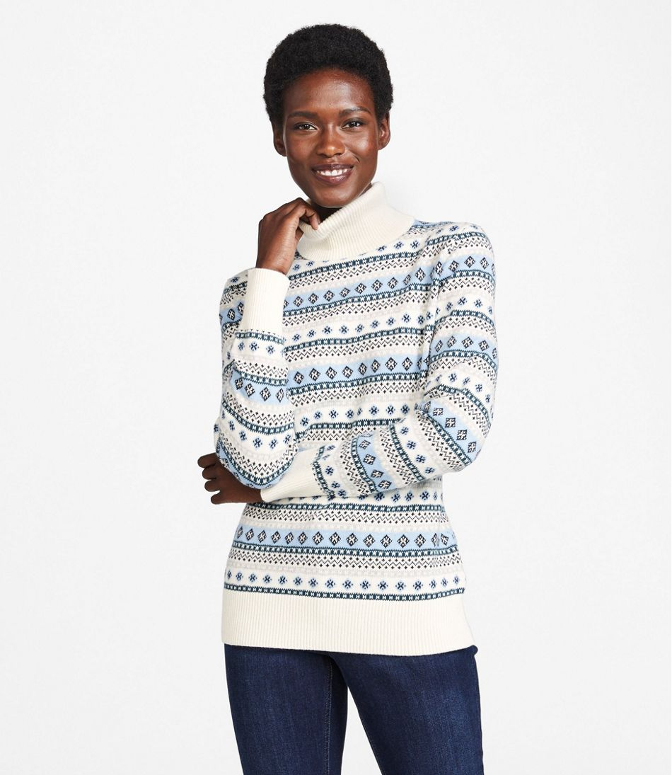 ll bean cashmere sweater review