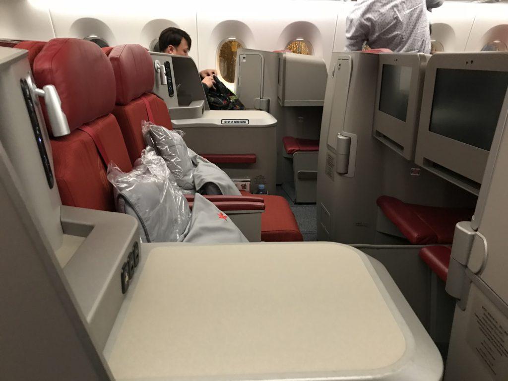 go air business class review