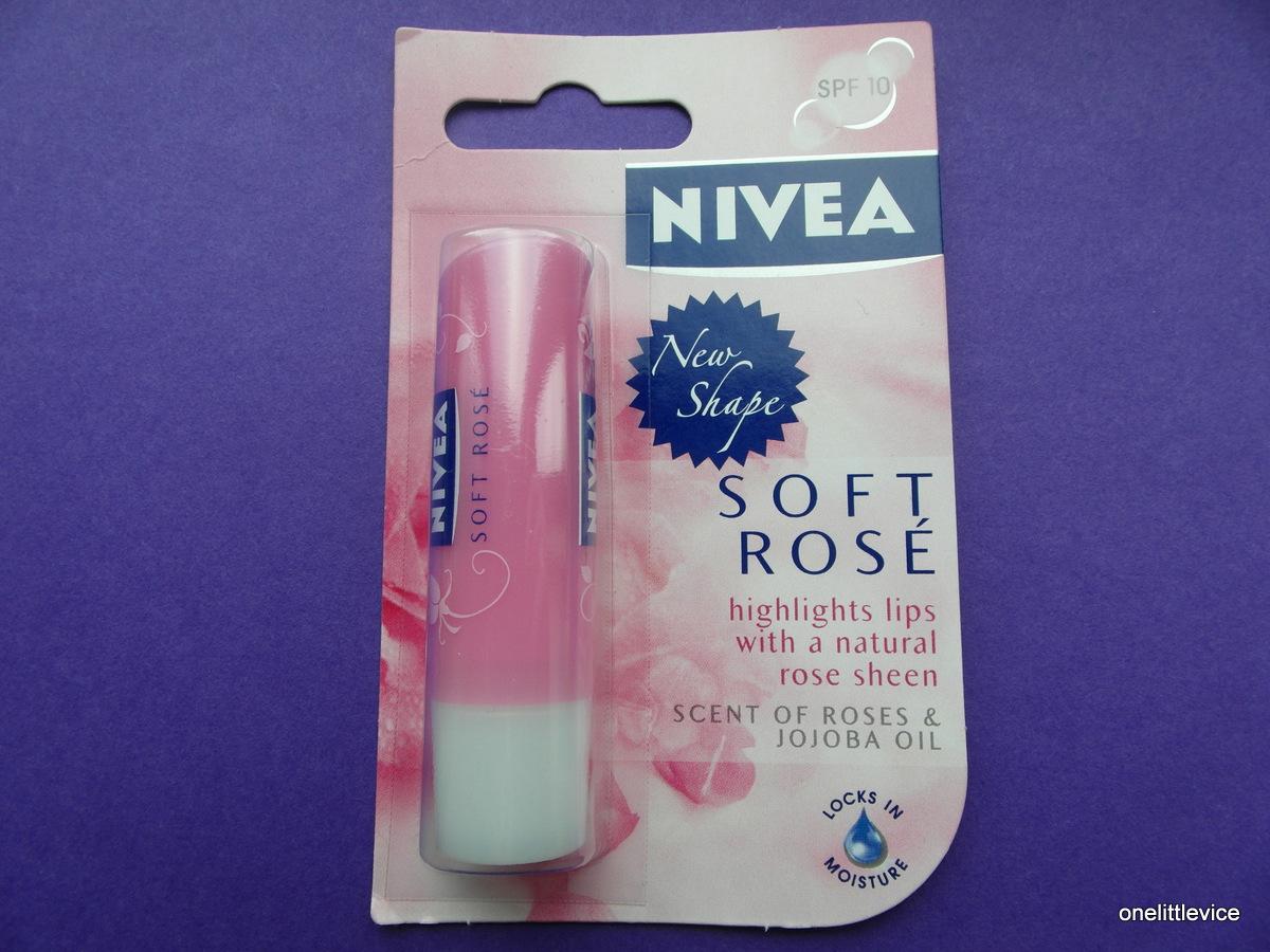 nivea tinted lip balm review