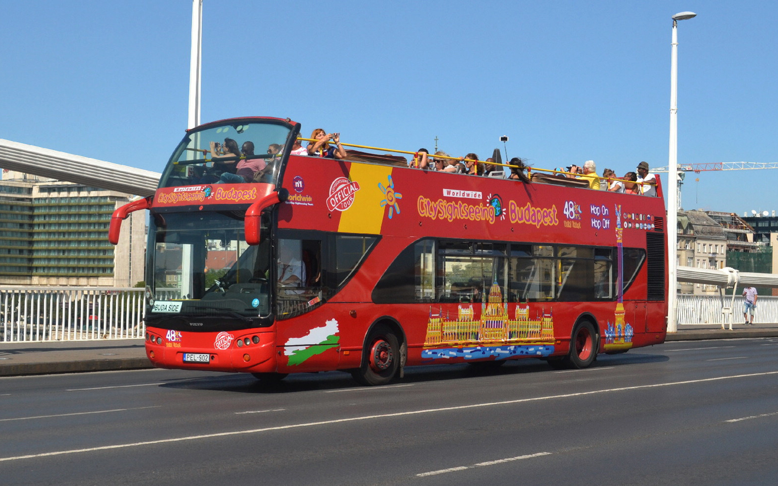hop on hop off bus budapest review