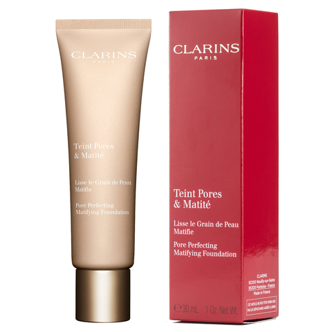 clarins pore perfecting mattifying foundation review