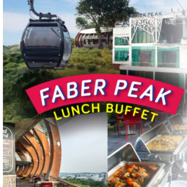 faber peak buffet lunch review