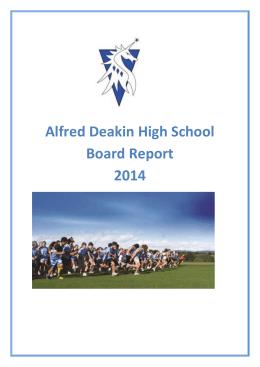 alfred deakin high school reviews