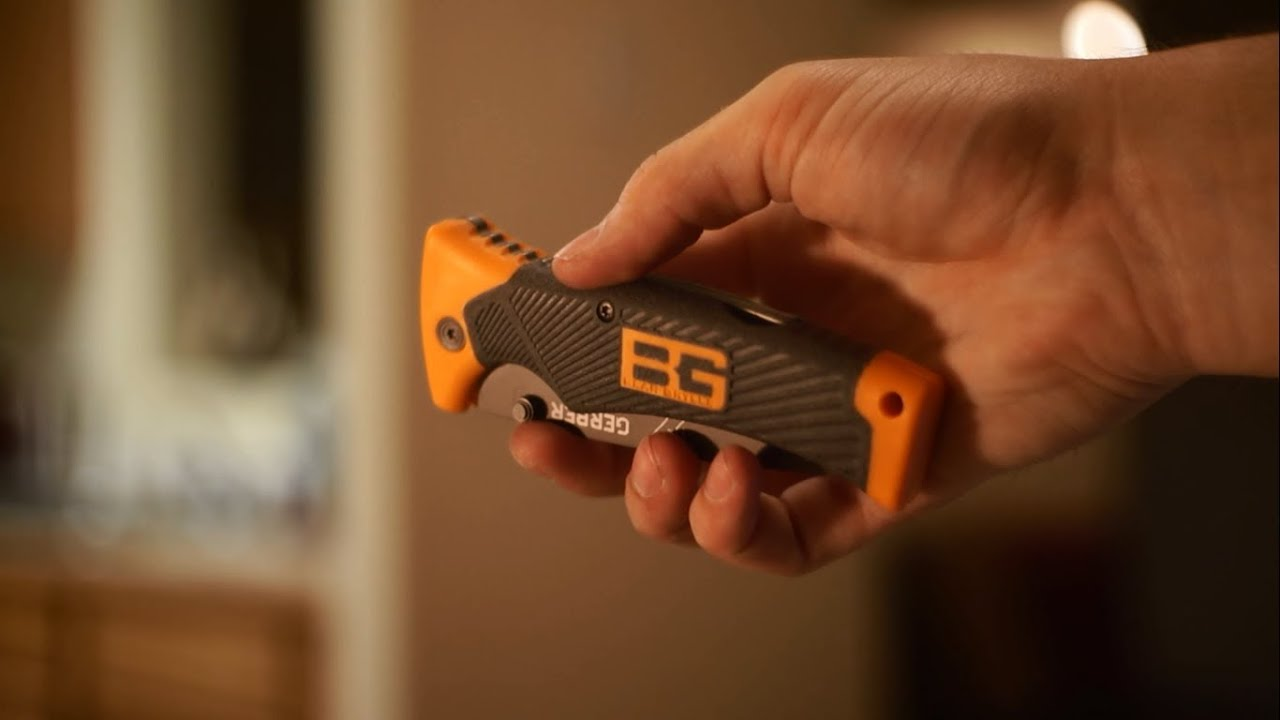 bear grylls folding sheath knife review