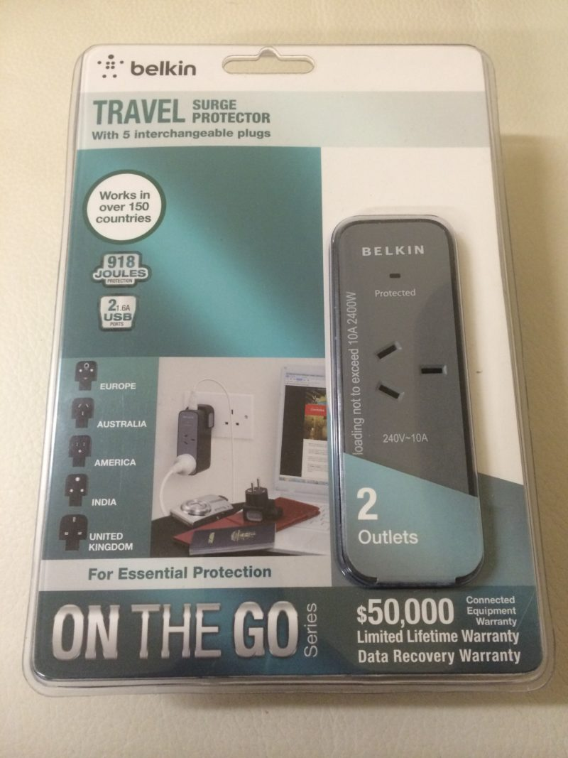 belkin travel surge protector review