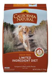 california natural dog food reviews
