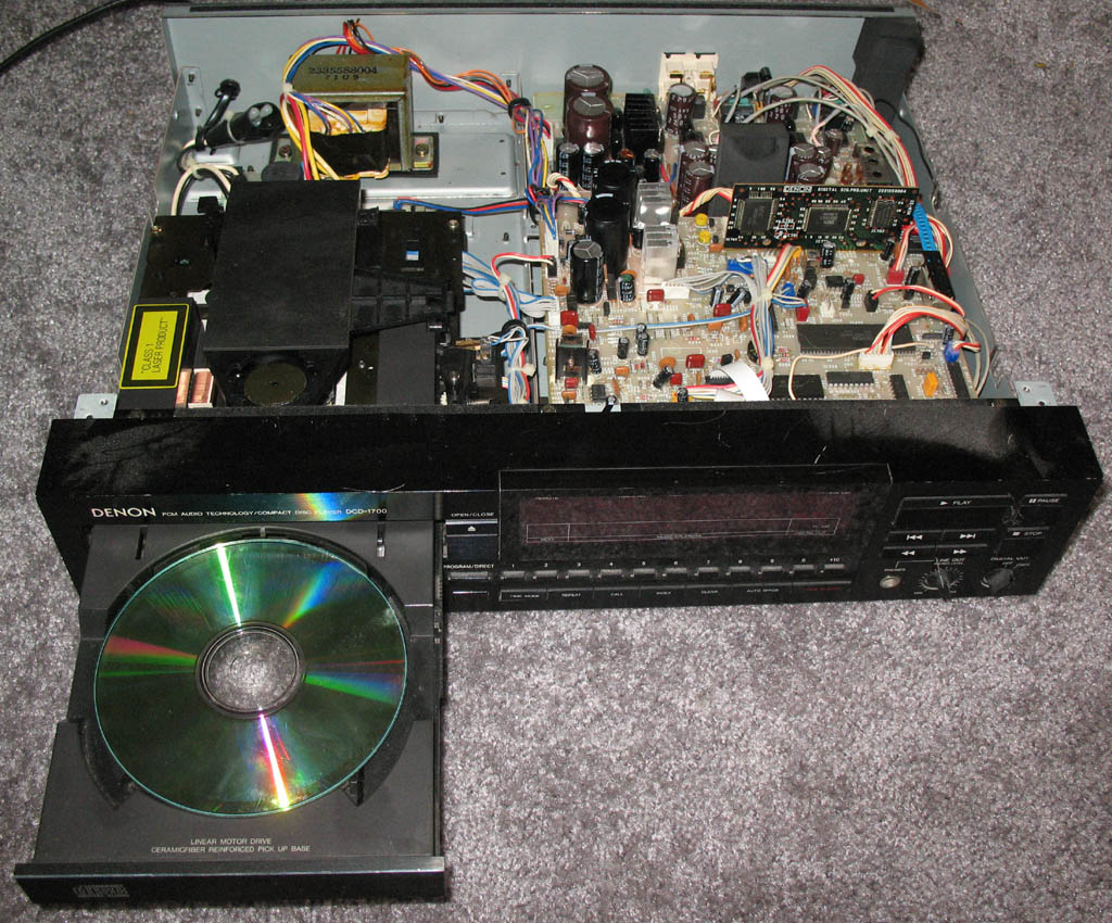 cambridge audio d100 cd player review