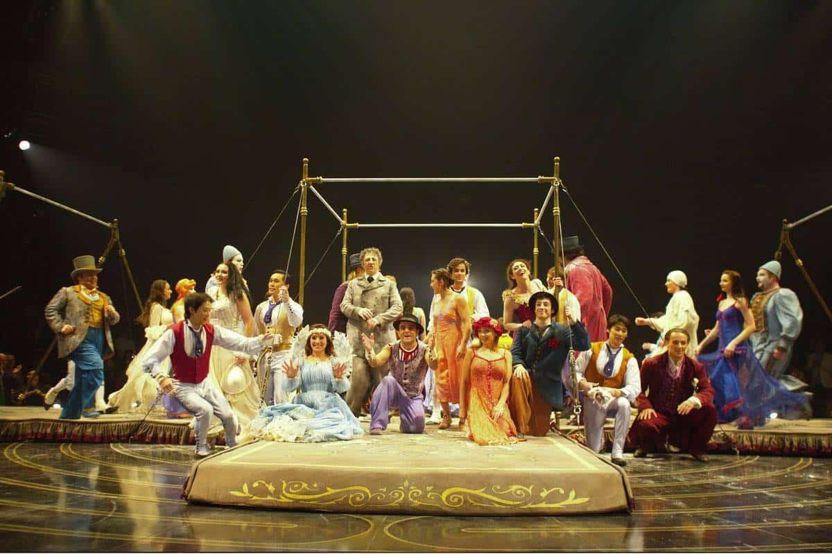 cirque du soleil corteo review