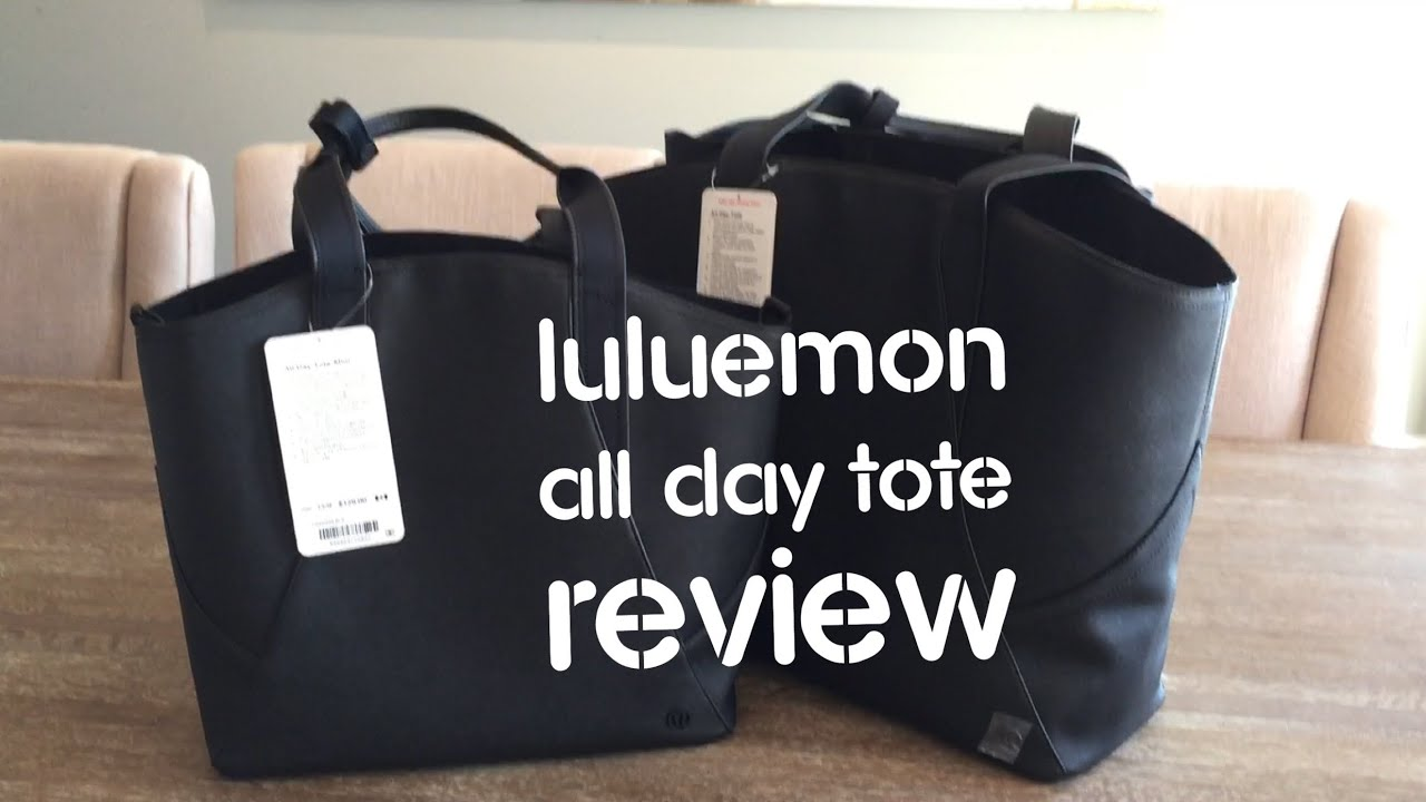 lululemon all day tote review