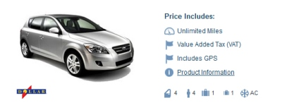 dollar car rental dublin review