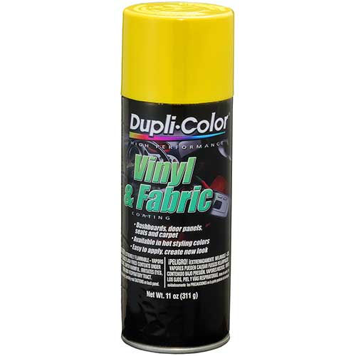 duplicolor vinyl and fabric paint review
