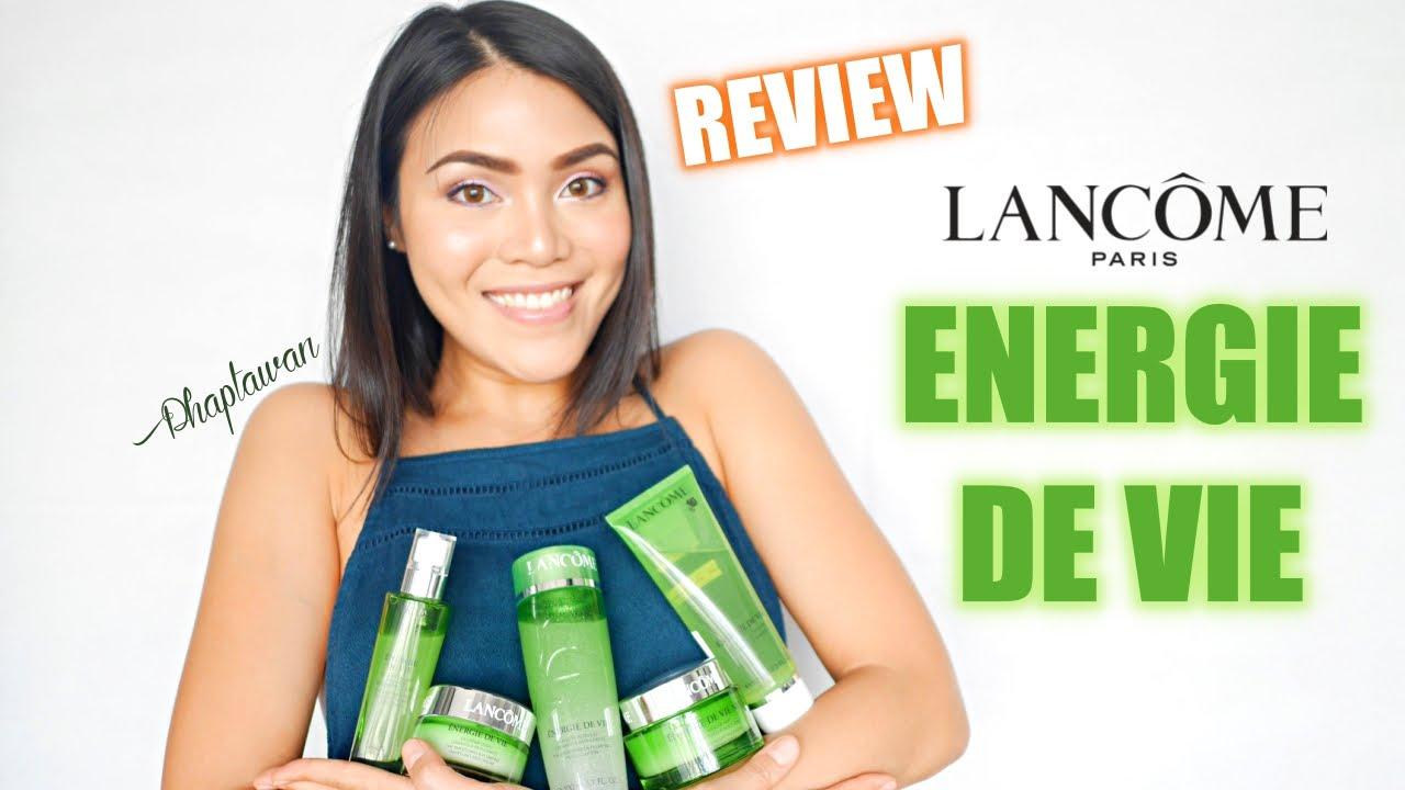 energie de vie lancome review