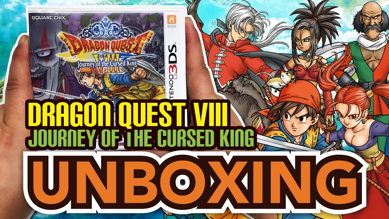 dragon quest viii 3ds review