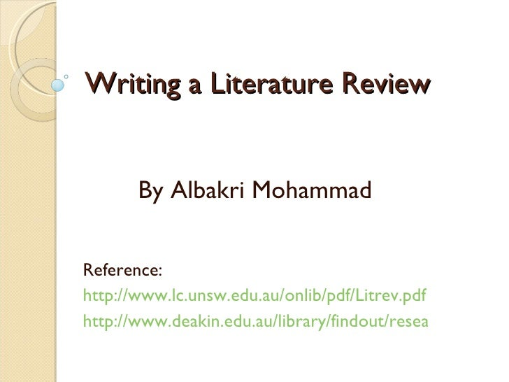 literature review on leadership pdf