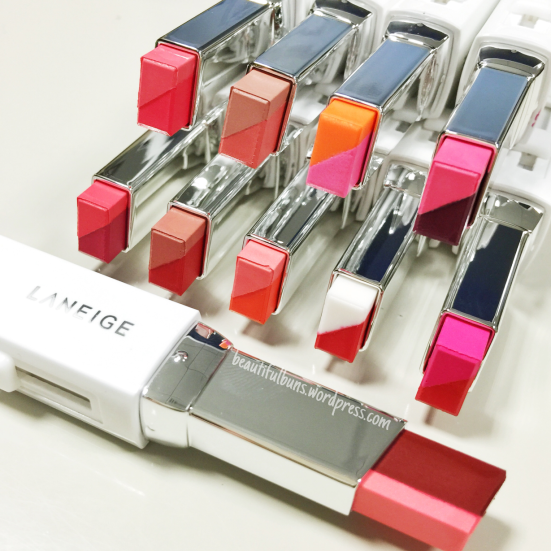review laneige two tone lip bar