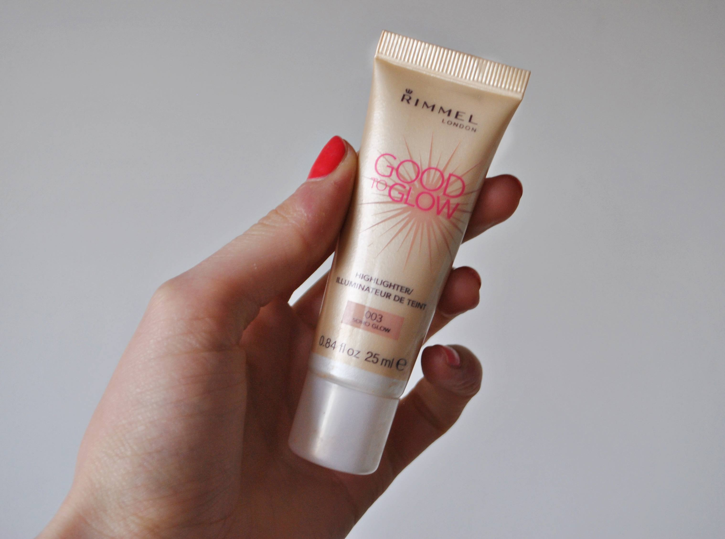 good to glow rimmel review